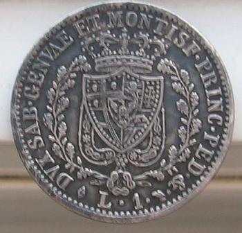 1 lire de sardaigne 1828 002.jpg revers