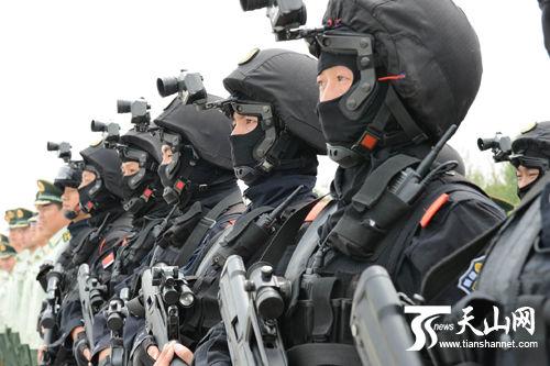 """Un exercice """"antiterroriste"""" pour réprimer les Tibétains pacifiques"""