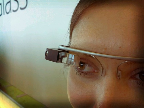 Photos et explication du Google Glass
