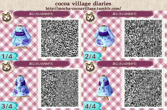 ANIMAL CROSSING NEW LEAF. QR CODE. ACNL. PINNED BY Stephy Sama: