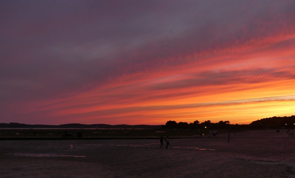 Juste après le coucher du soleil...