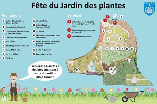 Fête du Jardin des plantes d'Avranches