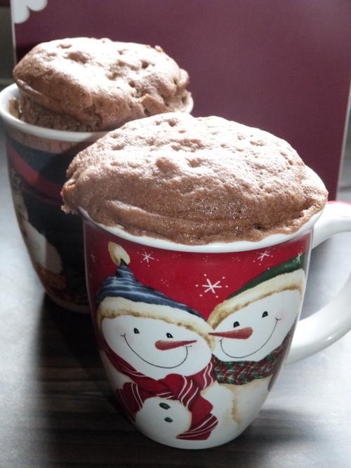 Recette Mug Cake Coeur Coulant au Chocolat