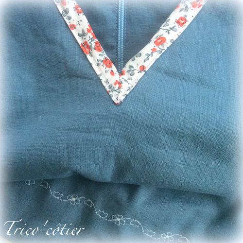 Ma première robe en couture - la Belladone