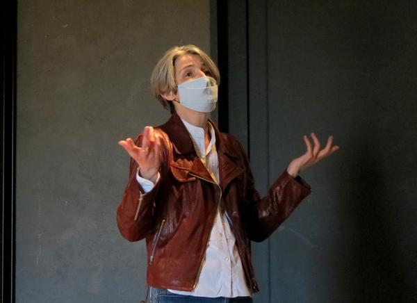 """Martin Petitguyot a présenté, salle Kiki de Montparnasse, l' esquisse de son futur spectacle: """"Molière"""".."""