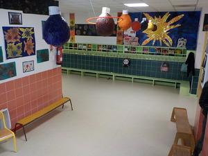 exposition à l'école des travaux sur le système solaire