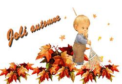 Voici l'automne !