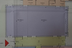 La construction d'une salle