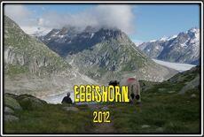 L'Eggishorn dans le Valais en Suisse