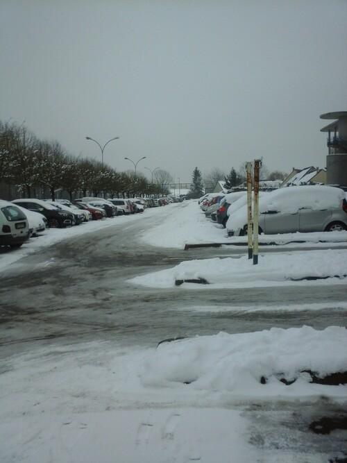 Nouvel épisode avec la neige