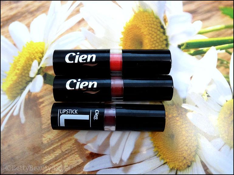 Les rouges à lèvres Cien (partie 2)