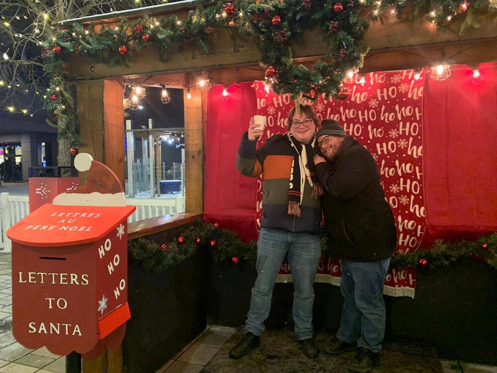 Ottawa Christmas Market with Yang and Jean-Daniel on December 7th 2019