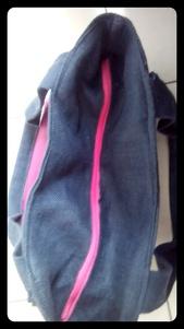 sac à main bicolore