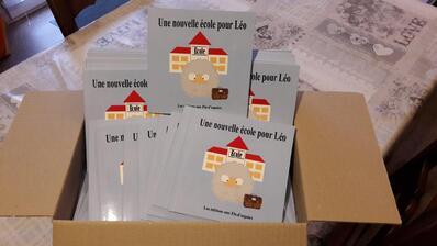 """""""Une nouvelle école pour Léo"""", d'Olivier Laurendeau et Manon Bourgeois pour l'ACVS 49"""