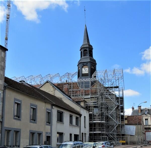 Rénovation dextérieure de l'église Saint-Jean Baptiste de Châtillon sur Seine