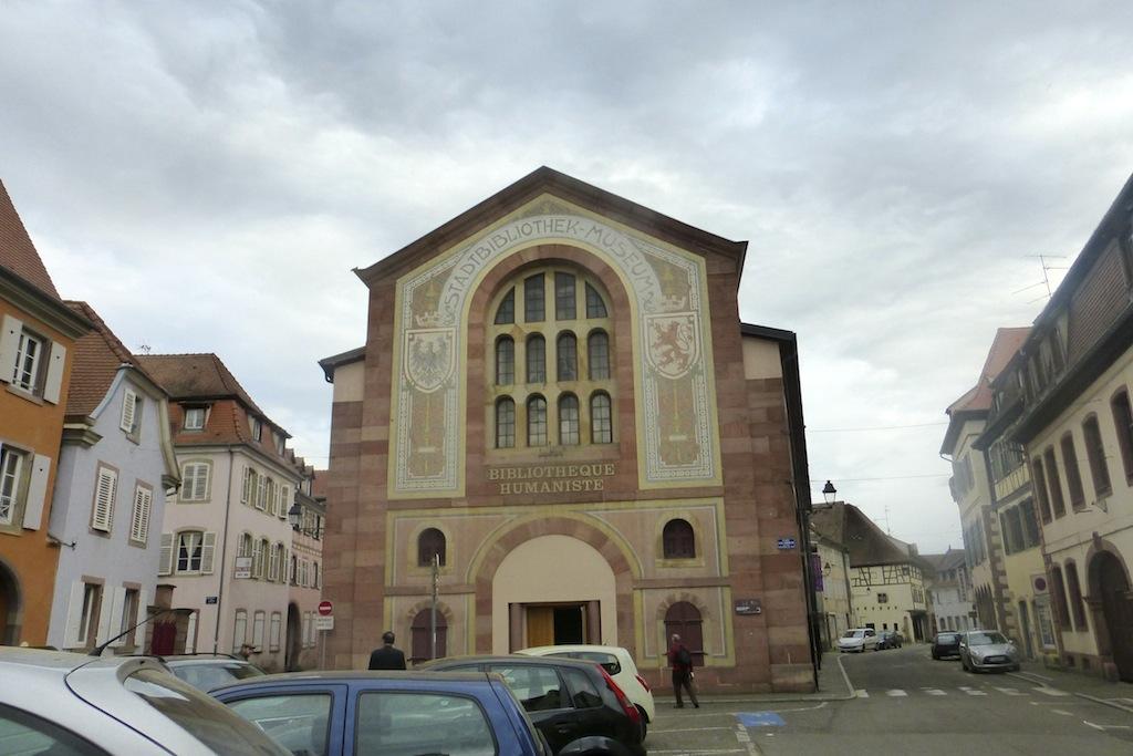 Sélestat:l'église Saint Georges.