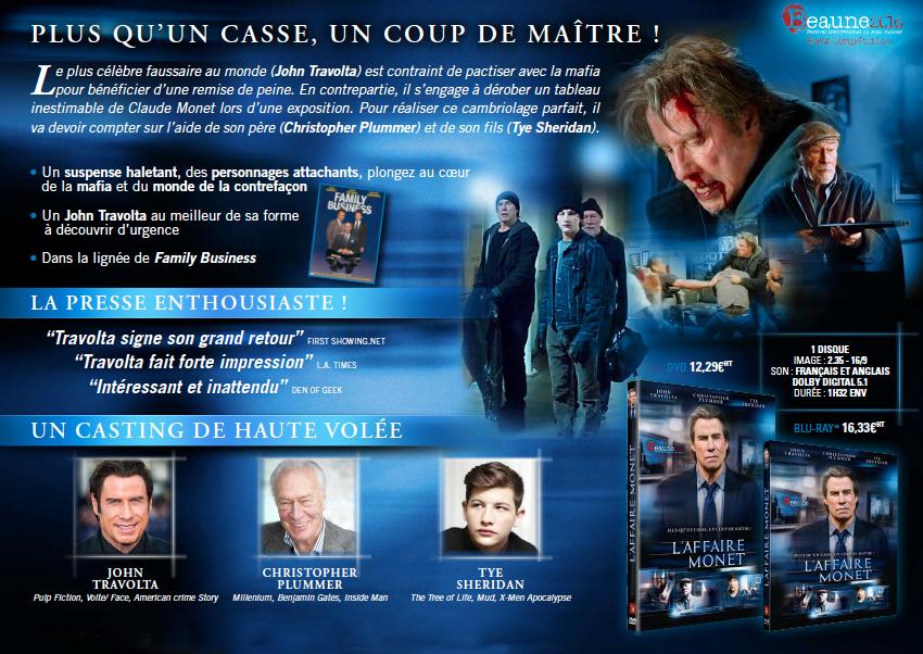 L'AFFAIRE MONET - le 19 octobre 2016 en DVD et Blu-ray chez Atelier d'Image