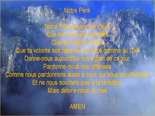 La pensée du jour ;« Seigneur, apprends-nous à prier »
