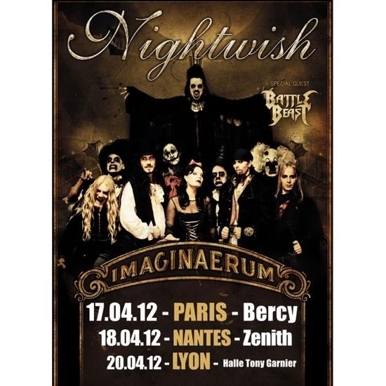 NIGHTWISH_French tour 2012