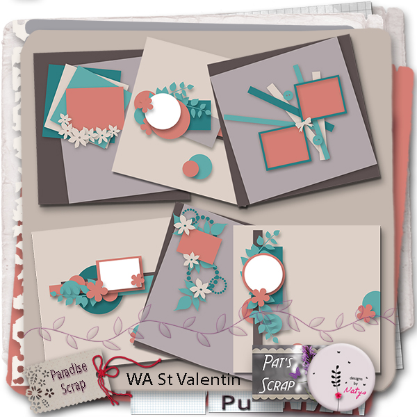 Collab templates by Natys & Pat's Scrap
