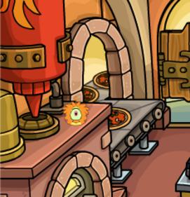 Nouveautés de la Fête des Puffles (23 mars) - Puffle Orange
