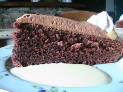 Real Red Devils Food Cake