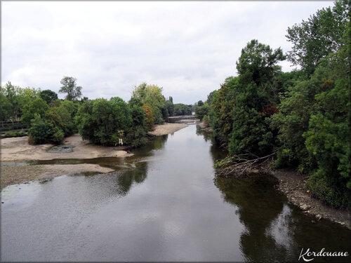 Photo du Thouet - La rivière de Montreuil Bellay