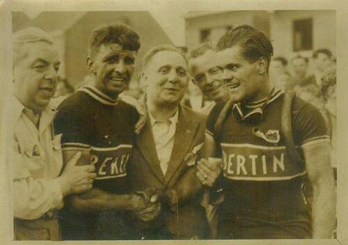 Tenue cyclisme équipe Bertin années 50 :