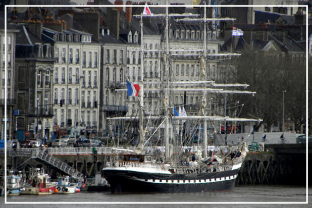 Nantes pour port d'attache