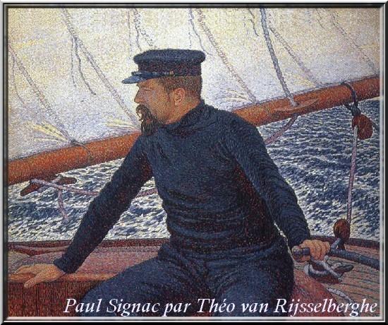 Paul Signac par Théo van Rijsselberghe