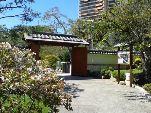 Le jardin japonais monégasque