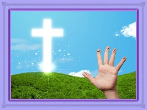 Prière à 5 doigts