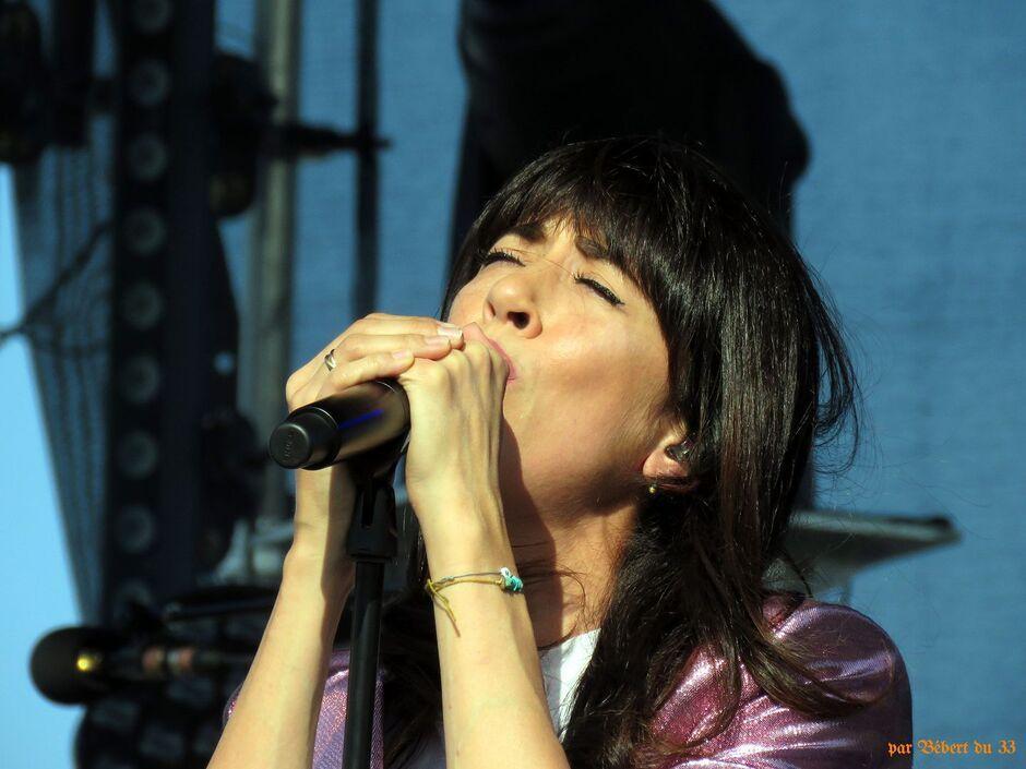 Nolwenn en concert à Barbezieux