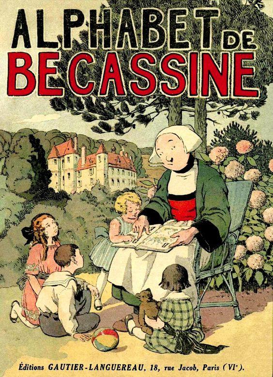 Bécassine, le premier numéro de La Semaine de Suzette le 2 Février 1905:
