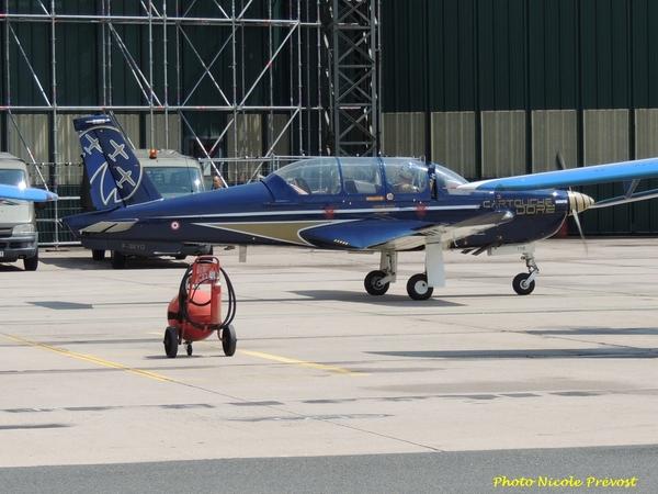 Nicole Prévost a assisté au meeting aérien de Nancy...