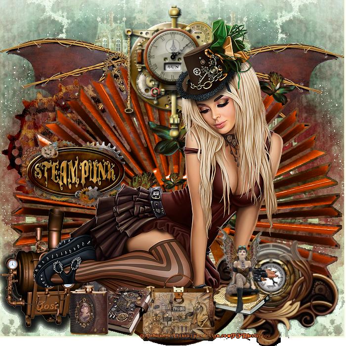 Défi slat steampunk