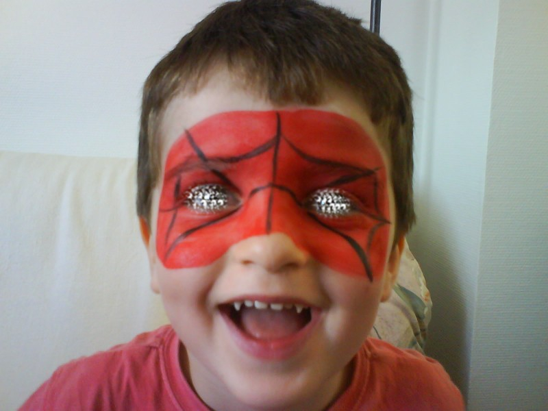 Modele maquillage spiderman - Modele maquillage princesse ...