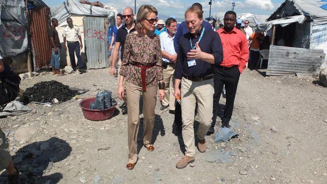 Mathilde en Haïti