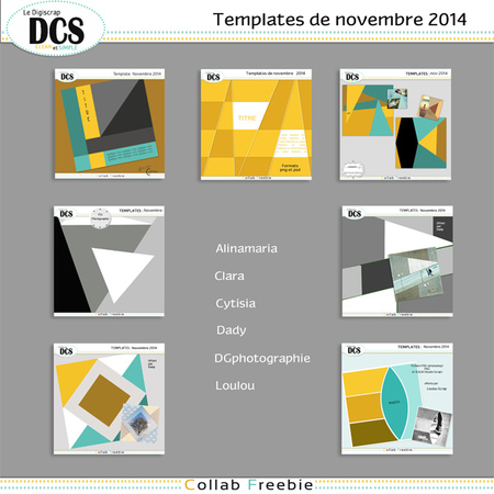 DCS et les templates de Novembre