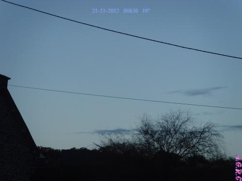 TEMPS DU JOUR  21/11/2012