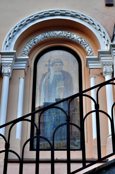 EGLISE ORTHODOXE ST.VLADIMIRÉGLISE RUSSE ORTHODOXE SAINT-VLADIMIR (PRAVOSLAVNÝ KOSTEL SV. VLADIMÍRA