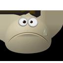 Emoticones Gris