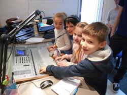 visite des studios de la Radio Albatros du Havre