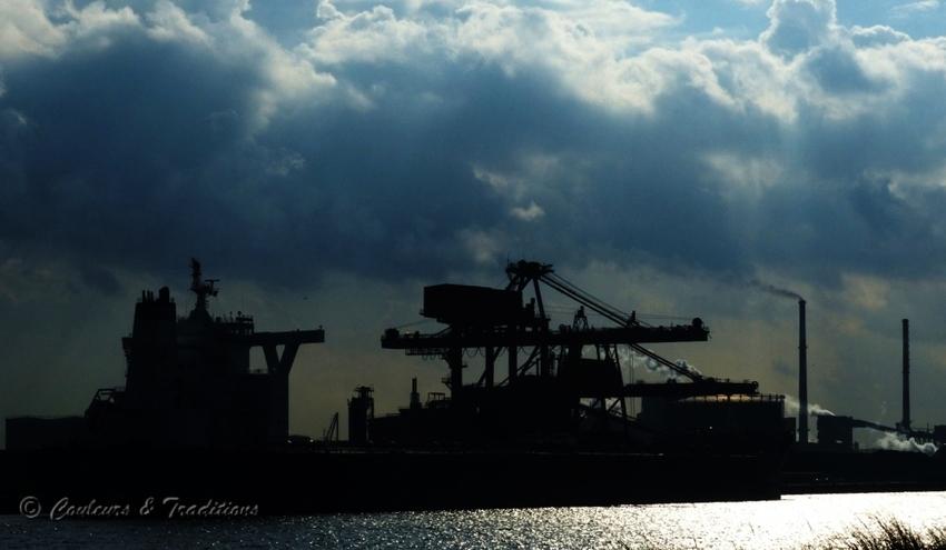 Quai minéralier - Port de Dunkerque