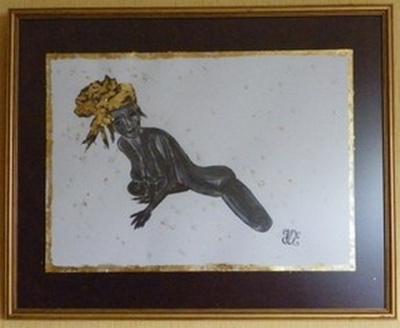 "Art Painting ""LA FEMME OFFERTE"" = """