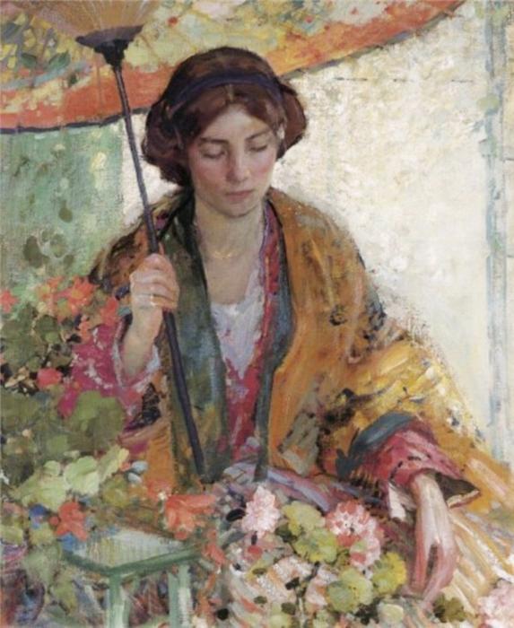 02 parapluies et ombrelles dans la peinture am ricaine for Peinture a la mode