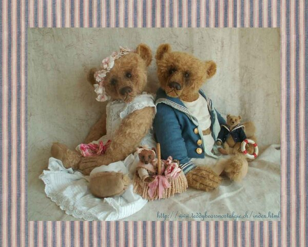 Teddy Bears Nostalgie