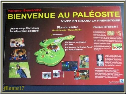 Le Paléosite de St Cézaire (charente maritime)
