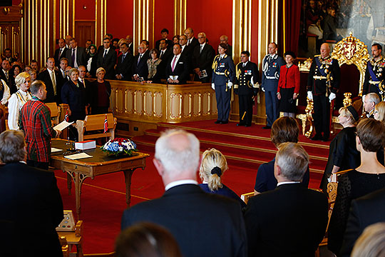Ouverture du parlement