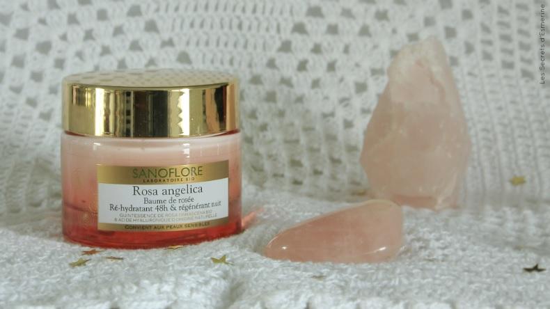 Baume Rosa Angelica de Sanoflore pour peaux normales à sèches (et sensibles)